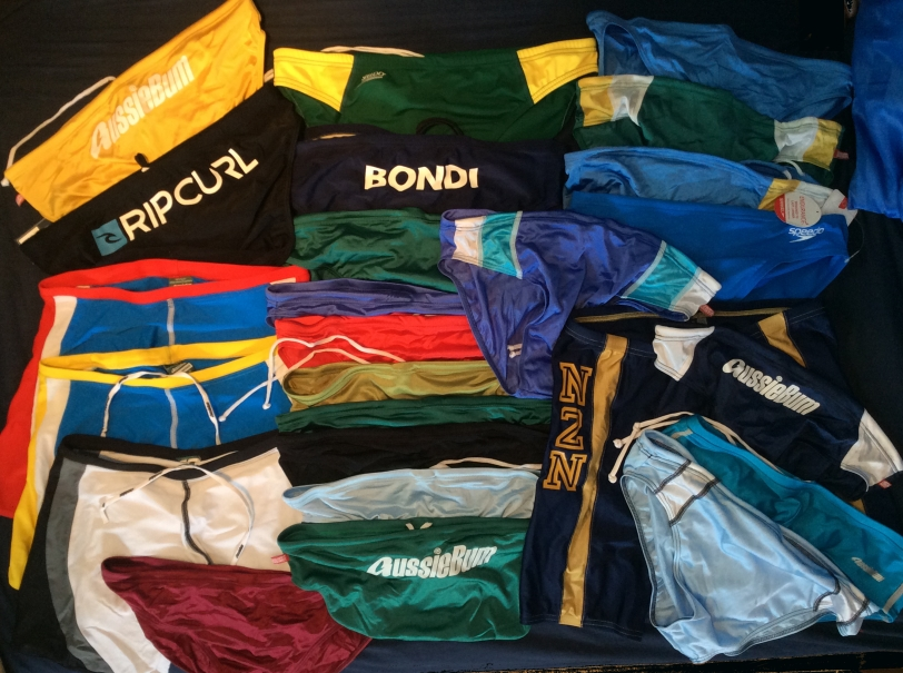 A quick tidy and stocktake of one f my Lycra draws