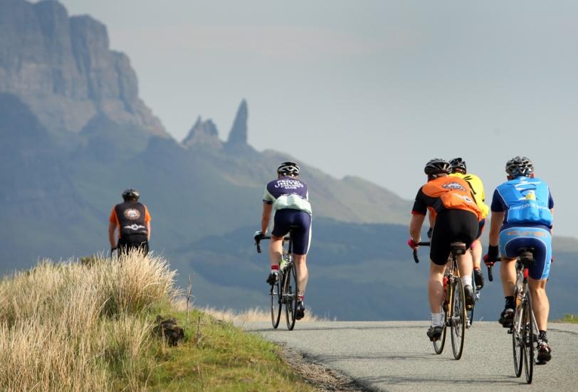 Skye Beag and Skye Mor Cyclosportif. Isle of Skye
