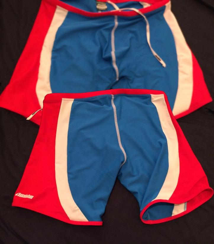 AB Wrestleme White Blue Red